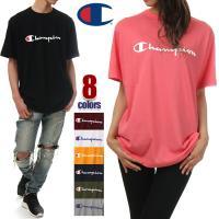 チャンピオン Tシャツ CHAMPION Tシャツ 半袖 メンズ レディース 大きいサイズ ロゴ 無...