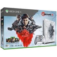 【新品】【即納】Xbox One X Gears 5 リミテッド エディション (Gears 5 アルティメット エディション Gears of War 1,2,3,4 ダウンロード版)