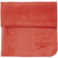 Speedo スピード セームタオル(小) SD96T02 レッド