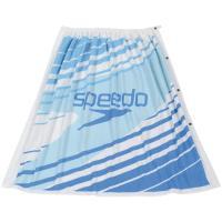 Speedo スピード 【ジュニア用】 ラップタオル(小) SD96T04 ブルー