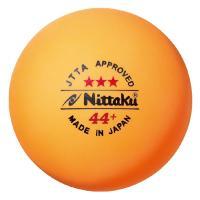 ニッタク Nittaku ラージボール 44プラ3スター 1ダース(3個入り×4箱) NB1010