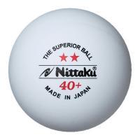 ニッタク Nittaku プラ2スターボール (3個入り×4セット、1ダース) NB1320