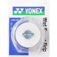 Yonex ヨネックス ウェットスーパーグリップ5本パック(5本入) AC1025P ホワイト