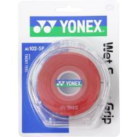 Yonex(ヨネックス) ウェットスーパーグリップ5本パック(5本入) AC1025P ワインレッド