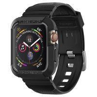 Spigen Apple Watch バンド 一体型 ケース Series 5 / Series 4 44mm 対応  ラギッド・アーマー プロ 落下 衝撃 吸収
