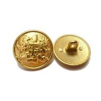 20mm 15mm 金色 ジャケット用 メタル(金属)ボタン12個入り