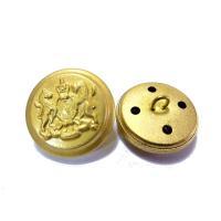 20mm 15mm  金色xつや消し色 ジャケット用 メタル(金属)ボタン12個入り