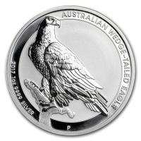 未流通品 2017年 オーストラリア ウェッジテールドイーグル 1OZ シルバーコイン  2017 ...