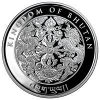 2017年 ブータン王国 酉年 ロースター銀貨 珍品   2017 1 oz Kingdom of ...
