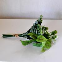 ミックスグリーンブーケ アーティフィシャルフラワー フェイクフラワー 造花 造花葉物 コースタルリビング ハワイアン 西海岸