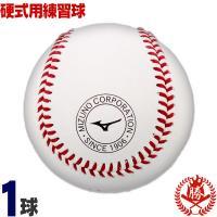 信頼できるミズノ製  全国の高校や、中学硬式チームで最も使われているミズノの硬式ボール。縫い目の高さ...
