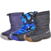 ■キッズ・ジュニアウインターブーツ/ボーイズスノーブーツ/防寒ブーツ/子供用 ■表地に耐水圧5000...
