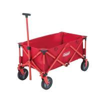 多くの荷物を楽に運べる簡単収束型ワゴン。・大型タイヤでスムース楽々移動・ストッパー付タイヤでさらに使...