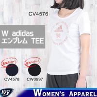 adidas アディダス W adidasエンブレム TEE CV4576/CV4578/CW0997