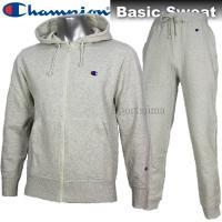 Champion チャンピオン BASIC スウェット ジャケット パンツ  上下 C3C119 C...