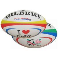 特徴:ギルバートだから、ボールの形と手触りにこだわりました。※タグラグビー専用ボールです。キック等は...