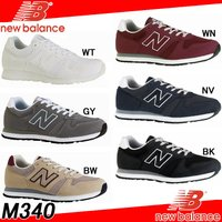ニューバランス(new balance) M340。 魅力的な価格設定のもとワイドなサイズレンジで展...