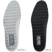 歩きやすさ、快適さをアップするパワークッションインソール。 ●足が滑りにくい、ウエーブ形状のデザイン...
