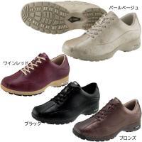 レディス【女性用靴】  すっきりとしたシェイプにストレッチ素材の やさしいフィット感が履きやすさのひ...