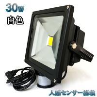 消費電力:30W  従来の投光器と比較:300W相当  サイズ:225×185×115(mm)  セ...