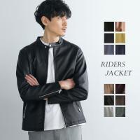 ライダースジャケット メンズ ブランド 人気 PUレザー ジャケット メンズファッション シングルライダースジャケット