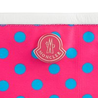 モンクレール MONCLER バッグ ポーチ付きトートバッグ ピンク/ブルー OPHELIE BORSA 4109A30020004563 ナイロン/レザー