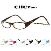 クリックリーダー ユーロ 全7色 clicreaders 老眼鏡 めがね 磁石 メガネ 火野正平 マグネット 柳葉敏郎 度数 シンプル プレゼント リーディンググラス