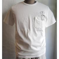 BARNS 当店限定コラボTシャツ ボディはBARNSの一番人気の吊り編みを使用。 和歌山の工場でゆ...