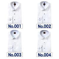ワイシャツ メンズ 長袖 スリム 形態安定 ワイドカラー ボタンダウン ドビー ストライプ チェック M L LL 白 R・KIKUCHI