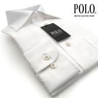 ■ワイシャツ■綿100%  ■長袖ワイシャツ ■形態安定加工 ■コンパクトヤーン トラッドシャツのベ...