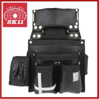 藤原産業・SK11 墨つぼ差し付き腰袋 SCL-9  ■特長■ ・ビスなどのパーツ、道工具類の収納、...