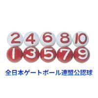 ニチヨー 公認ボール 10個セット NY−10   材質 ABS樹脂、3重構造(日本製)  数字 5...