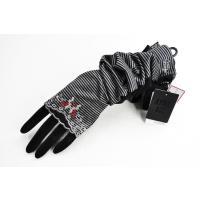 ブランド アナスイ  商品説明 フラワー 刺繍 ボーダー ロング 手袋。 素敵な刺繍が施され、裏側メ...
