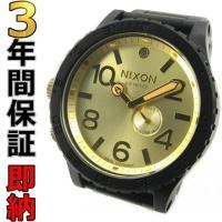 即納可 ニクソン 腕時計 51-30 A057-502 オリジナル タイド マットブラック/ゴールド...