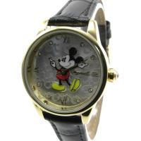即納可 ディズニー 腕時計 ミッキーマウス DIN005GDBK  ディズニーの大人気キャラクターミ...