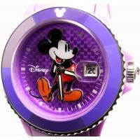 即納可 ディズニー 腕時計 D91084SVPU ミッキーマウス パープルベルト  ディズニーのD9...