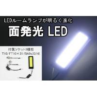 明るい面発光LEDルームランプ(60×20mm)厚み5mm(両面テープ含む)  12周年セール LE...