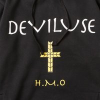 Deviluse H.M.O Pullover Hooded(Black)