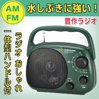 【仕様】 ■ スピーカー:直径10cm ■ 受信周波数:FM76〜99MHz(TV音声1〜3ch)/...