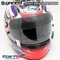 近年、数多くのF1ドライバーが装着するバイザーガード。 走行中に前方の車両から脱落したパーツ片がヘル...