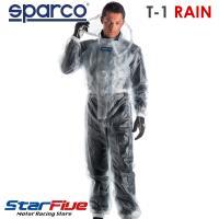 レーシングカートのレインレース時に着用するレインスーツです。 レーシングギアの老舗・Sparcoが作...