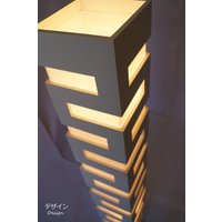 ノーブルスパーク社のお洒落な照明です。  ■サイズ:長さ20cm × 幅20cm × 高さ124cm...
