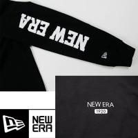 ニューエラ 長袖Tシャツ NEW ERA newera 長袖 コットン Tシャツ 11474144 ワイドロゴ