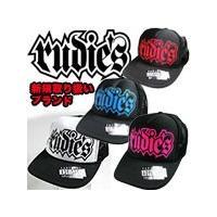 RUDIE'S ルーディーズ メッシュキャップ SPARK CAP ブラック×レッド  rudies RUDIES MESH 帽子 ぼうし