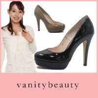 ラウンドトゥ パンプス PUMPS Vanity Beauty ( バニティービューティー )(32...