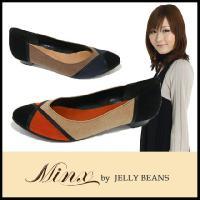 アーモンドトゥ パンプス PUMPS Minx by JELLY BEANS ( ミンクス ジェリー...