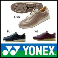 パワークッション ウォーキングシューズ YONEX ( ヨネックス )(LC56) レディース 黒 ...