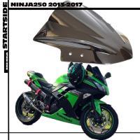kawasaki カワサキ ニンジャ ninja 250 スモーク スクリーン バブル カウル パーツ 適応車種 20132017 以降 JBK-EX250L 黒 ブラック