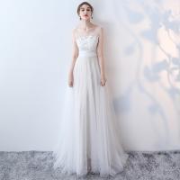 ウエディングドレス Aライン 結婚式 ワンピース ウエディングドレス 安い ホワイト ロングドレス ...