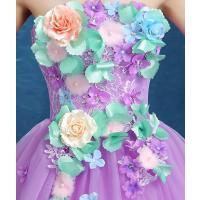 ウェディングドレス カラードレス 演奏会 安い パーティードレス 披露宴 オープンバック 二次会 ロングドレス 発表会 ステージ衣装 大きいサイズ